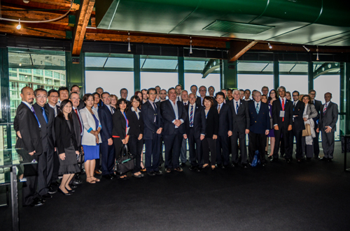 ICA Council and 47th conference delegates, Lisbon, Portugal, 2013