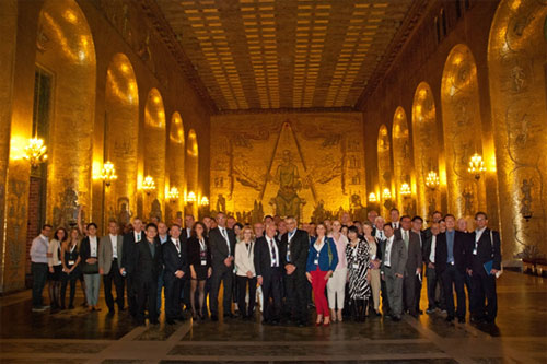 The opening evening embraced the delegates in an event hosted by the City of Stockholm.